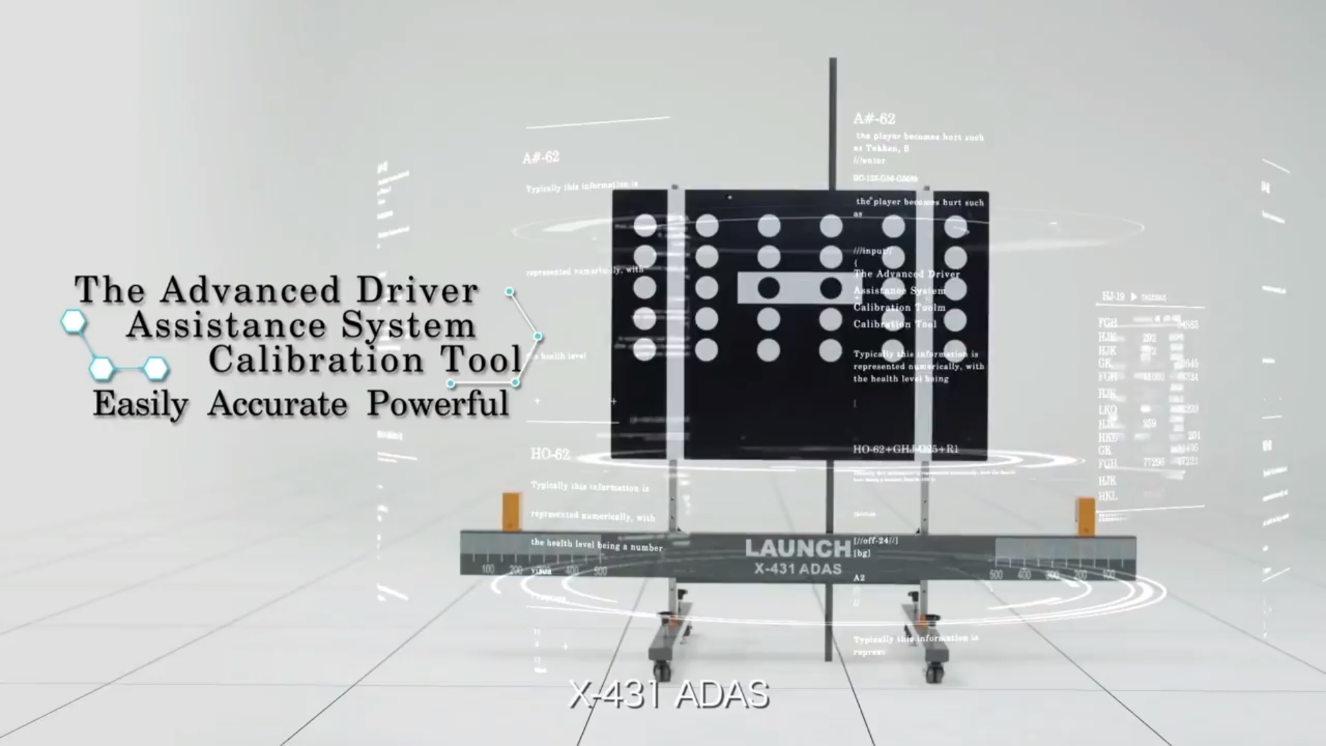 Launch X-431 ADAS - professional calibration equipment of ADAS